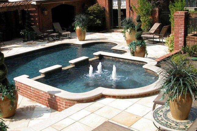 Custom Gunite Pool Idea Gallery - Rich-Way Landscape ...